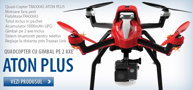Drona Aton Plus - asistentul personal - gimbal pe doua axe