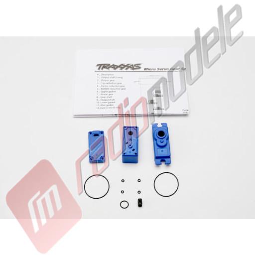 Cutie servo cu garnituri (servo micro 2080), pentru  automodele TRAXXAS 1/16