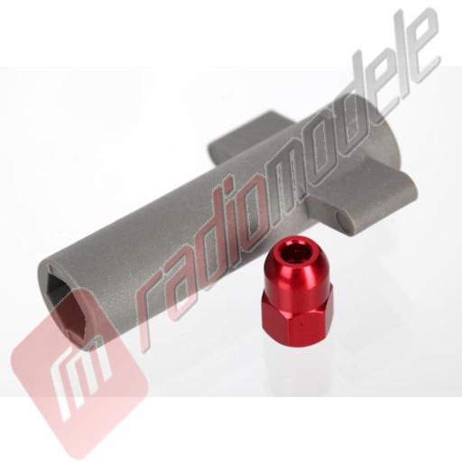 Piulita fixare antena rosie automodele TRAXXAS E-Revo Brushless