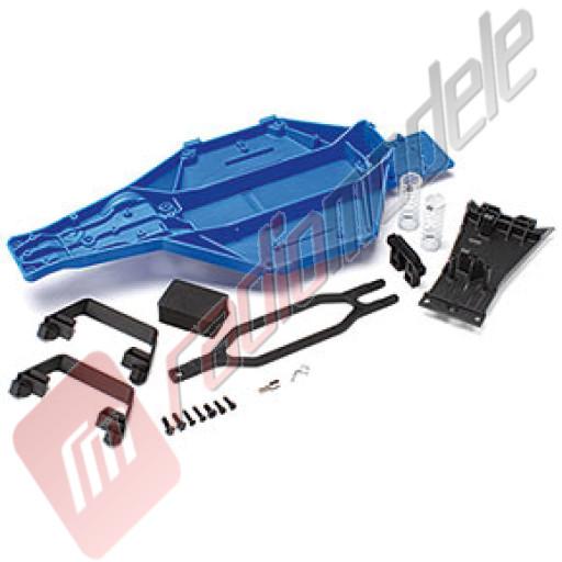 Kit conversie sasiu LCG (centru de greutate coborat), pentru automodel Traxxas Slash