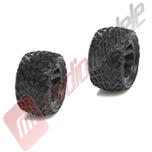 Roti complete Medial Pro Dirt Crusher Tyres, Cyclon 2.2 (2 buc)