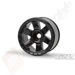 Jante ProLine Desperado 3.8' negre, offset 1/2', hex 17mm