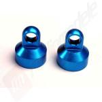 Capace amortizoare aluminiu - Albastru