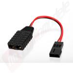 Cablu adaptor pentru incarcare acumulator receptie de la incarcator cu mufa TRX