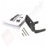 Suport wheelie bar negru - automodele TRAXXAS Rustler