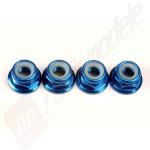 Piulite 5mm aluminiu, albastre, pentru automodele TRAXXAS Revo 3.3 / E-Revo / E-Maxx / T-Maxx