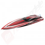 Navomodel Electric brushless Traxxas Spartan 2.4GHZ TQi rosu