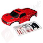 Caroserie rosie pentru automodele TRAXXAS Ford Raptor