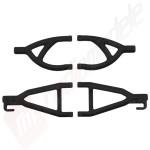 RPM - set bascule spate negre, automodel E-Revo 1/16
