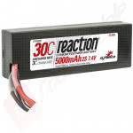 Acumulator LiPo 2S DYNAMITE Reaction Car 7.4V 5000mAh 30C mufa TRAXXAS