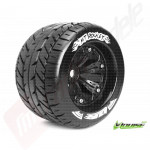 "Roti complete Louise RC MT-ROCKET pentru automodele monster truck scara 1/8 Traxxas Style Bead 3.8"", offset 1/2, hex 17mm"