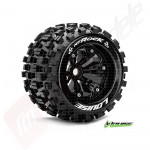 Roti complete Louise RC MT-ROCK SPORT, automodele monster truck 1/8, offset 0, hex 17mm