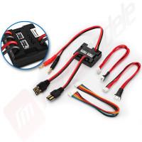 Adaptor pentru incarcare simultana 2 acumulatori LiPo 2S
