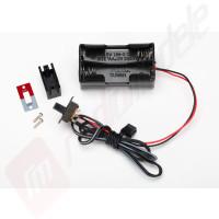 Suport baterie 4 celule - TRAXXAS T-Maxx 3.3