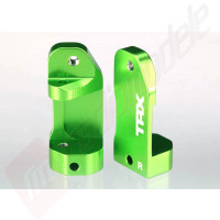 Port-fuzeta (caster block) aluminiu verde pentru automodele