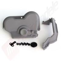 Carcasa transmisie si suport motor pentru automodel Traxxas E-MAXX