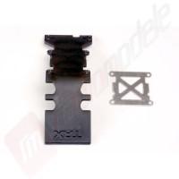 Scut spate (negru) automodel Traxxas E-Maxx + ranforsare otel