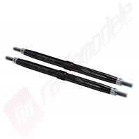 Tije filetate sustinere bascule fata aluminiu pentru automodel Traxxas E-MAXX