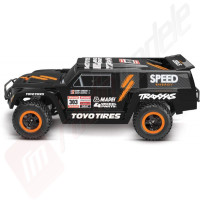 Automodel TRAXXAS Robby Gordon Edition Dakar Slash cu radio 2.4Ghz si acumulator 12v Inclus!