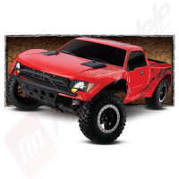 Automodel TRAXXAS Ford F-150 SVT Raptor cu On-Board Audio , 2.4GHz TQi, WATERPROOF, acumulator si incarcator 12v incluse!