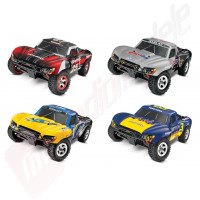 Automodel TRAXXAS SLASH 1/16, RTR, WATERPROOF cu incarcator rapid 12v inclus!