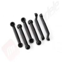 Camber links (4)/ toe links (2), pentru automodel LaTrax Teton