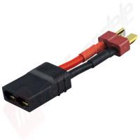 Cablu adaptor mufa DEANS tata - mufa TRX mama (pentru acumulatori cu mufa DEANS)