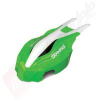 Carcasa frontala, verde/alb, pentru drona Traxxas Aton