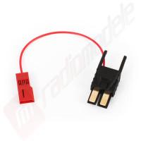 Cablu scurt citire tensiune - modul telemetrie pentru automodele Traxxas