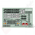 Pro-Line Caroserie Jeep Wrangler Unlimited Rubicon Clear pentru automodelele TRAXXAS Summit