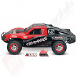 Automodel TRAXXAS Slash 4x4 BRUSHLESS, 2.4GHz TQi, WATERPROOF, sunet si TSM!